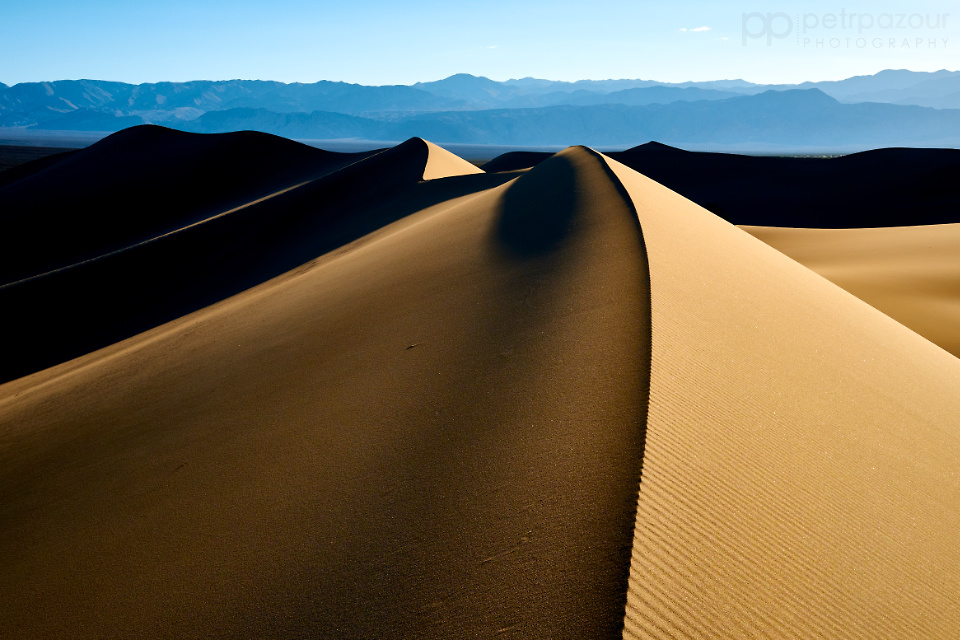 Sand Dunes - Death Valley